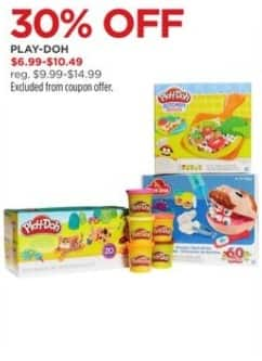 JCPenney Black Friday: Play-Doh for $6.99 - $10.49