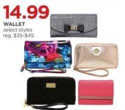 JCPenney Black Friday: Wallets for $14.99