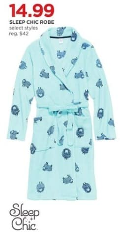 JCPenney Black Friday: Sleep Chic Robe for $14.99