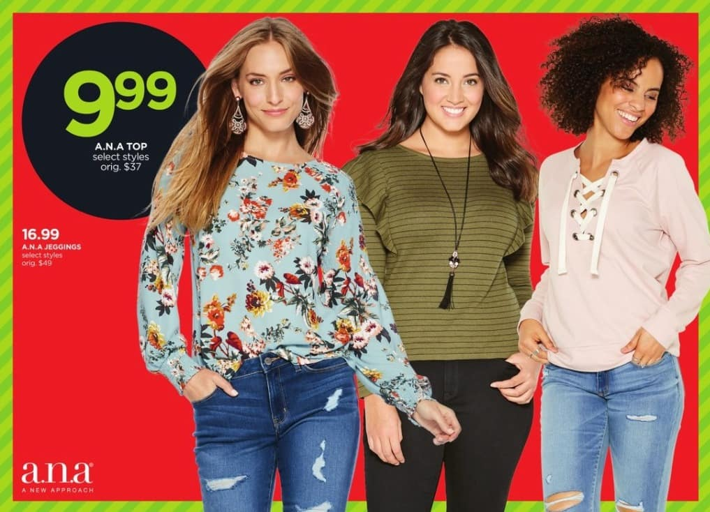 JCPenney Black Friday: A.N.A Women's Jeggings, Select Styles for $9.99