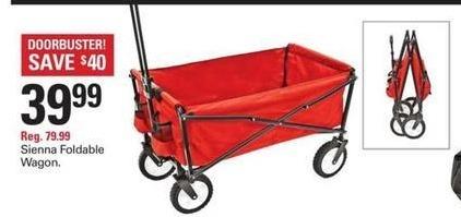 Shopko Black Friday: Sienna Foldable Wagon for $39.99