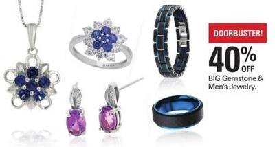 Shopko Black Friday: BIG Gemstone and Jewelry Men's Jewelry - 40% Off
