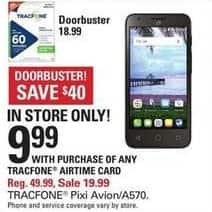 Shopko Black Friday: Tracfone Pixi Avion A570 for $9.99