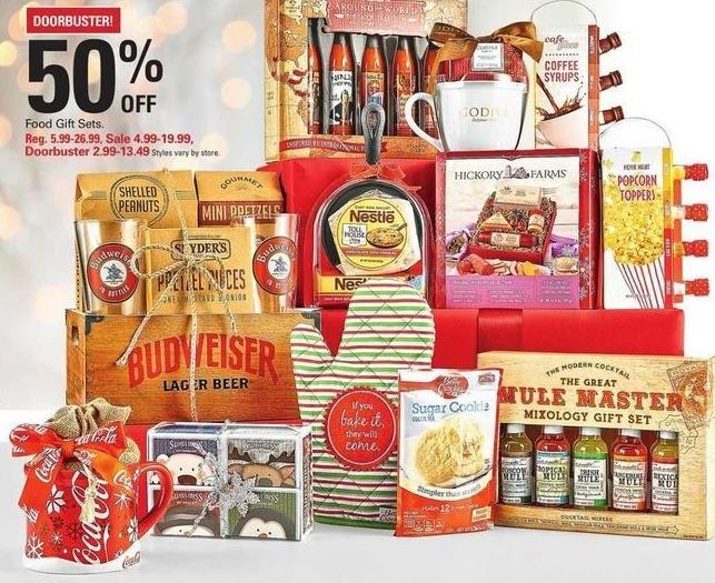 Shopko Black Friday: Food Gift Sets for $2.99 - $13.49