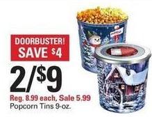 Shopko Black Friday: (2) Popcorn Tins for $9.00