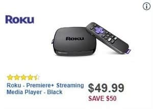 Best Buy Black Friday: Roku Premiere+ 4630R Streaming Media Player for $49.99