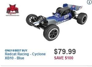 Best Buy Black Friday: Redcat Racing Cyclone XB10 Off-Road Electric Buggy for $79.99