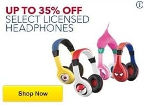 Best Buy Black Friday: Select Licensed Headphones from eKids and iHome for $16.99 - $59.99