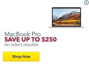 Best Buy Black Friday: Select Models of Apple MacBook Pro for $1,149.99 - $2,549.99
