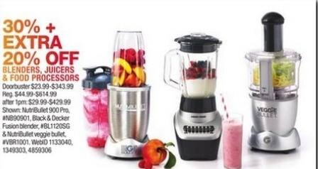 Macy's Black Friday: Select Small Appliances: Magic Bullet