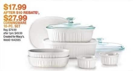 Today's top Corelle coupon: Up to 40% Off The Big White Sale. Get 3 coupons for