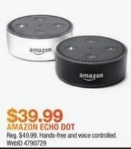 Macy's Black Friday: Amazon Echo Dot for $39.99