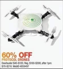 Macy's Black Friday: Protocol Dot Folding Live-Streaming Drone for $40.00 - $120.00