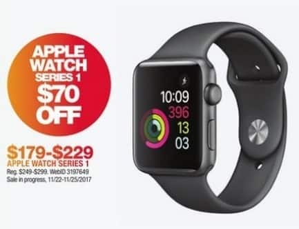 Macy's Black Friday: Entire Stock Apple Watch Series One for $179.00 - $229.00