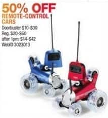 Macy's Black Friday: Select Remote Control Cars for $10.00 - $30.00