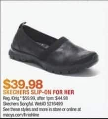 Macy's Black Friday: Skechers Women's EZ Flex 3.0 - Songful Casual Walking Sneakers for $39.98