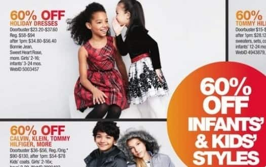 Macy's Black Friday: Select Girls' and Infants' Holiday Dresses: Bonnie Jean, Sweet Heart Rose and More for $23.20 - $37.60