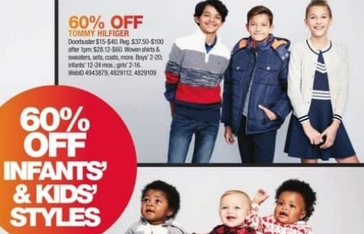 Macy's Black Friday: Select Kids' Tommy Hilfiger: Woven Shirts, Sweaters, Coats and More for $15.00 - $40.00