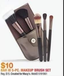 Macy's Black Friday: Macy's Impulse Beauty Collection Bar III 8-Pc. Makeup Brush Set for $10.00