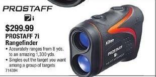 Cabelas Black Friday: Prostaff 7i Rangefinder for $299.99