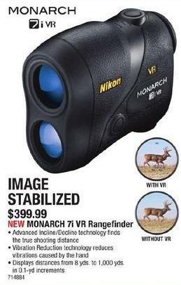 Cabelas Black Friday: Monarch 7i VR Rangefinder for $399.99