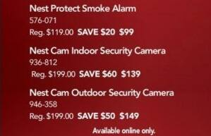 Office Depot and OfficeMax Black Friday: Nest Cam Outdoor Security Camera for $149.00