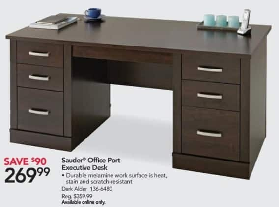 Office Depot And OfficeMax Black Friday: Sauder Office