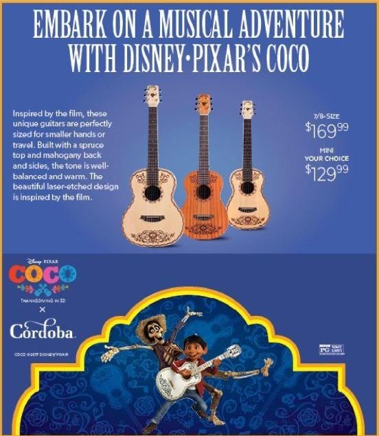 Guitar Center Black Friday: Cordoba Coco Guitar Natural for $169.99