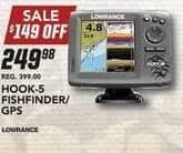 Field & Stream Black Friday: Hook-5 Fishfinder GPS for $249.98