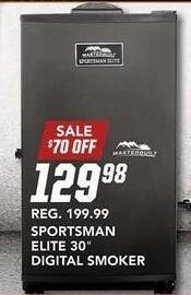 "Field & Stream Black Friday: Sportsman Elite 30"" Digital Smoker for $129.98"