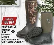 Field & Stream Black Friday: Men's Edgewater Hi or Fieldblazer XT for $79.98