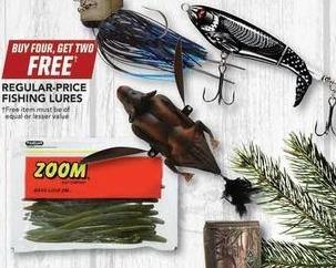 Field & Stream Black Friday: Entire Stock Regular-Price Fishing Lures - B4G2 Free