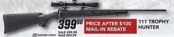 Field & Stream Black Friday: 111 Trophy Hunter Gun for $399.98 after $100 rebate