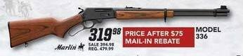 Field & Stream Black Friday: Model 336 Gun for $319.98 after $75 rebate
