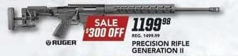 Field & Stream Black Friday: Ruger Precision Rifle Generation II Gun for $1,199.98