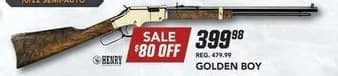 Field & Stream Black Friday: Golden Boy Gun for $399.98