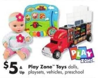 "Big Lots Black Friday: Select Play Zone Toys: Style Girls 18"" Dolls, Pony or Bed for $5.00"
