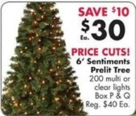 big lots black friday winter wonder lane 6 sentiments pre lit artificial christmas - Big Lots White Christmas Tree