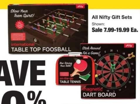Fred Meyer Black Friday: Entire Stock Nifty Gift Sets for $7.99 - $19.99
