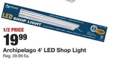 Fred Meyer Black Friday: Archipelago 4' LED Shop Light for $19.99