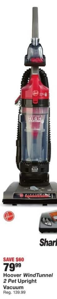 Fred Meyer Black Friday: Hoover WindTunnel 2 Pet Upright Vacuum for $79.99