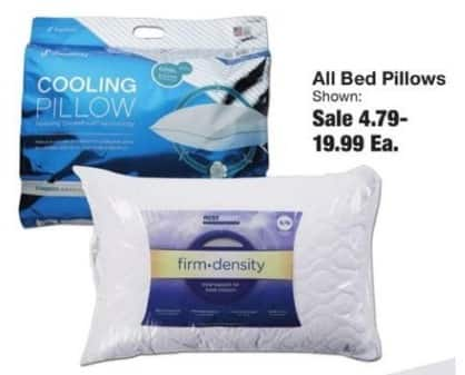 Fred Meyer Black Friday: Entire Stock Bed Pillows for $4.79 - $19.99