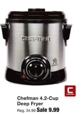 Fred Meyer Black Friday: Chefman 4.2-Cup Deep Fryer for $9.99 ...