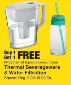 Fred Meyer Black Friday: Select Styles: Thermal Beveragewear and Water Filtration - B1G1 Free