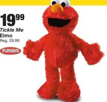 Fred Meyer Black Friday: Playskool Tickle Me Elmo for $19.99