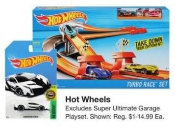 Fred Meyer Black Friday: Select Hot Wheels - B1G1 Free