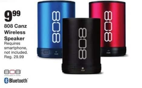 Fred Meyer Black Friday: 808 Canz Wireless Speaker for $9.99