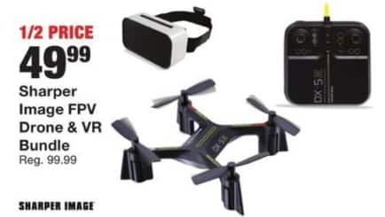 Fred Meyer Black Friday: Sharper Image FPV Drone and VR Bundle for $49.99