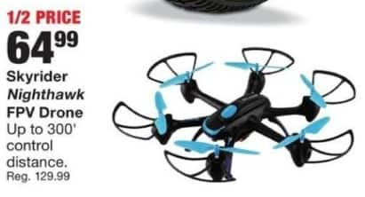 Fred Meyer Black Friday: Skyrider Nighthawk FPV Drone for $64.99