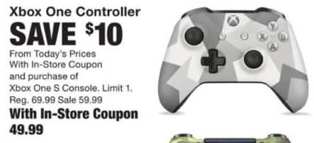 fred meyer black friday xbox one controller w coupon and purchase